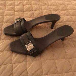 Gucci heels.